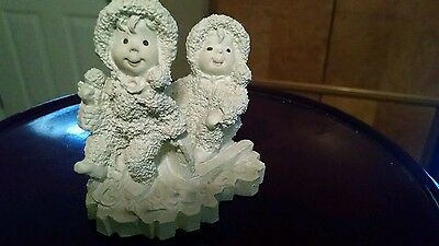 Snow Baby w/ smaller snow baby1994 Avery Collection