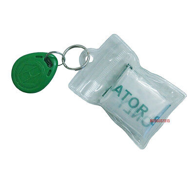 100pcs CPR Mask Keychain One-way Valve Mouth to Mouth Resuscitation Mask PVC Bag