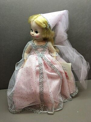 FAIRY GODMOTHER Madame Alexander Doll  #1550 1965 VINTAGE Blonde pink dress