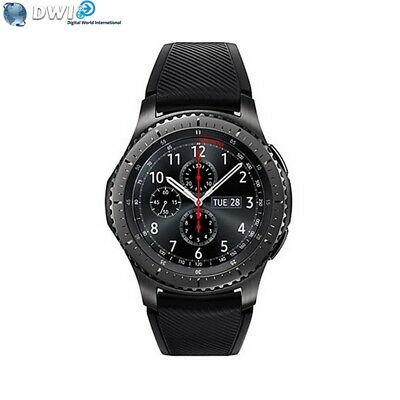 Nuevo Samsung Gear S3 Sm-R760 Frontier Bluetooth Smart Watch Negro Black