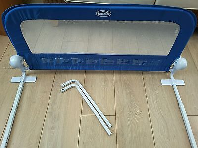 Summer Infant Grow with Me Bed Rail Guard Bedrail Single Blue. Toddler bed guard