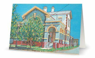 Artist designed Cards- Morpeth Post Office NSW - 5pack