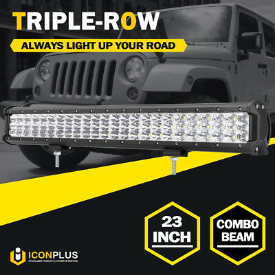 """23INCH 504W PHILIPS LED Light Bar Flood Spot Combo Work Driving Lamp Offroad 20"""""""