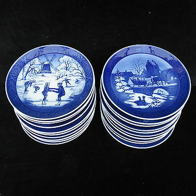 Royal Copenhagen Christmas Plates 1989 - 2000  Mint