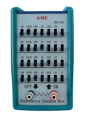 NEW! GME RD-300 Resistance Decade Box / Resistor Substitution Box USA Seller