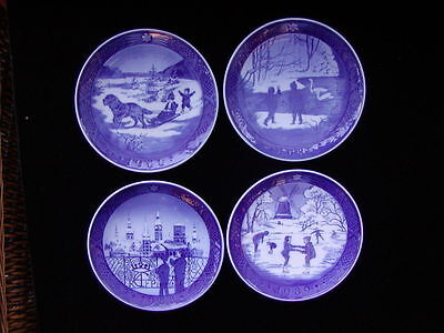 Royal Copenhagen Christmas Plates 1966 - 1988  Mint