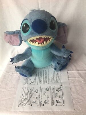 Disney Aloha Stitch Interactive Talking Soft Plush Toy.with instructions