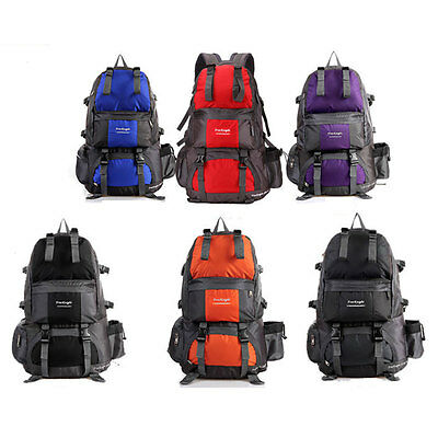 Unisex Outdoor Sport Large Bag Traveling Hiking Rucksack Camping School Backpack