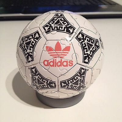 Jigsaw Puzzle Ball 1986 FIFA Soccer Ball - Very Unique