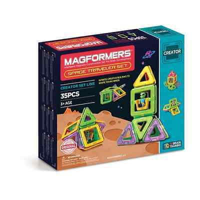 Magformers 703007 Space Traveler Set 35pce - Brand New