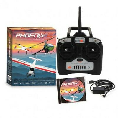 Phoenix Flight Sim 50R4400 V5 w/DX4e Mode 2 - Brand New