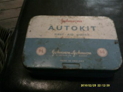 Johnson Auto kit first aid outfit deceased estate