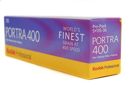 *NEW* 5 rolls of Kodak Portra 400 35mm 36exp fillms [5/2018]