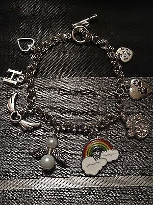Personalised Rainbow Bridge Pet Loss Bracelet