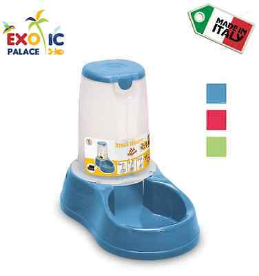 Dispenser Ciotola Break Reserve Cibo Per Cane Gatto Distributore In Plastica Dog