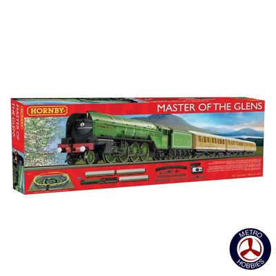 Hornby OO Master of the Glens Electric Train Set R1183 Brand New