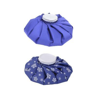 """2x 9"""" Reusable Ice Bag Cold Therapy Pack Injury Care Pain Swelling Relief"""