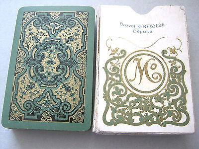 Antique Playing Cards Muller Switzerland 1910 Rococo Deck Superb Court Design