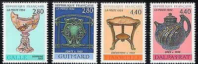 TIMBRES FRANCE NEUF** LUXE N° 2854 à 2857 -  ANNEE  1994