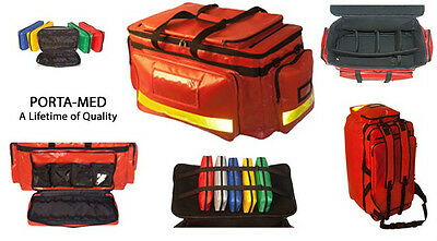 Medical Bag/Advanced Life Support Emergency(Red) ** Waterproof & High Quality**