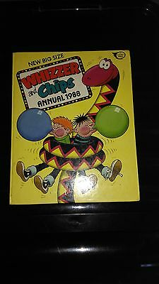 Whizzer And Chips Annual 1988 Vintage Comic Book