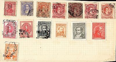 Stamps ~ ARGENTINA South America SELECTION UNSORTED ~ #2