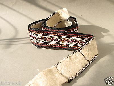 Antique Hand- embroidered Bulgarian Balkans Folk Belt, fine/ of superior quality