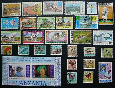 Tanzania: Collection Of  Used Stamps:  Lot 3