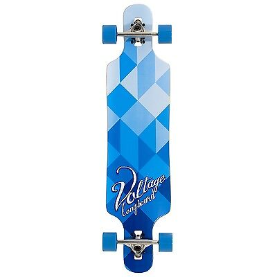 Voltage Drop Through Complete Longboard - Blue