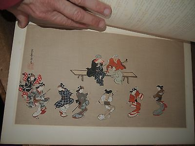1915 THE KOKKA JAPANESE ART MAGAZINE with 1 COLOUR & 8 BW LITHOGRAPHs issue 304