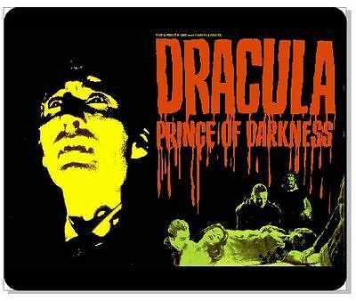 Hammer Films Christopher Lee Dracula Prince Of Darkness Colour Mousemat