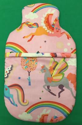 Unicorn Hot Water Bottle Cover With Or Without Hot Water Bottle Free P&P