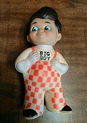 Vintage Bob's Big Boy Bank Rubber