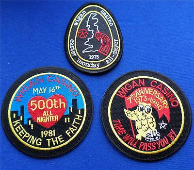 Northern Soul Patch - 3 Patch Set 2 - Wigan Casino