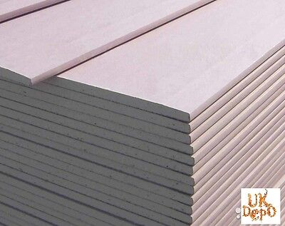 Plasterboard Sheet Size - (9.5mm; 12.5mm) [6'x3' and 8'x4' or  900/1200*2400]