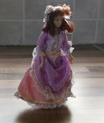 Dolls House Miniature Doll - Victorian/Edwardian Style Lady