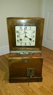 Vintage Blick Clocking In Machine From Chatham Dockyard Working Example