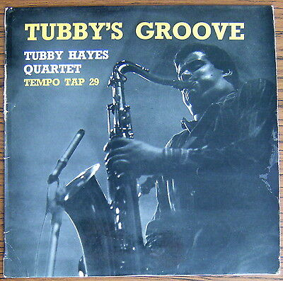 TUBBY HAYES QUARTET Tubby's Groove LP TEMPO Records TAP 29