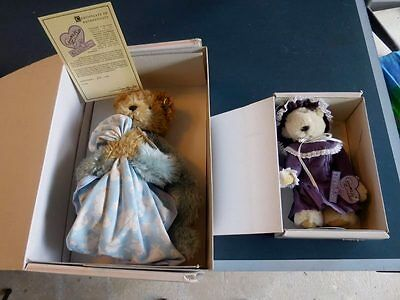 """Annette Funicello Collector Bears 15"""" & 9"""" Christian Dreamkeeper W/Box Free Ship"""