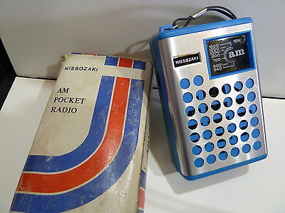 Vintage Nissozaki Pocket Radio  Am(Mw)- Band From The 1960S