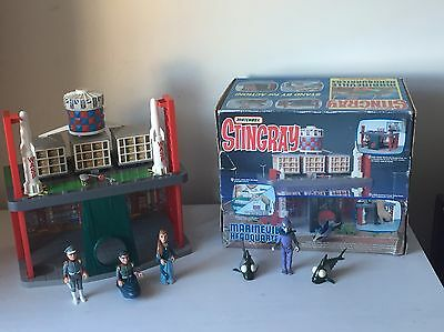 Matchbox - Stingray Marineville Headquarters Playset Boxed With Figures
