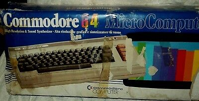 Vintage Commodore Micro Computer 64 Boxed with simons book
