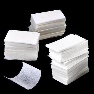 Lint Free Wipes Cotton Pad Tips Nail Art Polish Remover Manicure Paper Cleaner