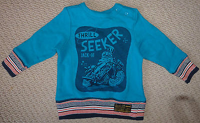 NWT Jack & Milly Boys Thrill Seeker Motorcycle Jumper Size 0 or Size 1