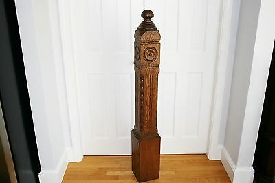 Beautiful Oak Newel Post