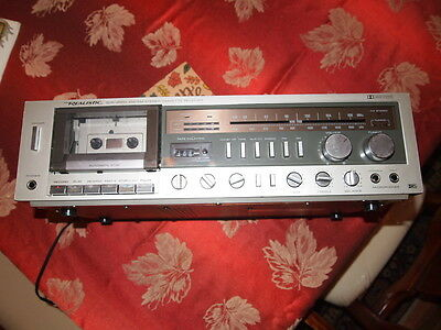 REALISTIC SCR-2500 Vintage Stereo Receiver & Cassette Deck! TESTED & WORKING!!