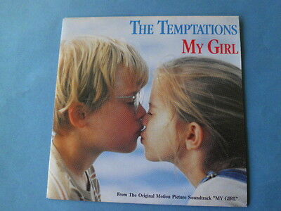 """THE TEMPTATIONS  MY GIRL Original Motion Picture Soundtrack""""MY GIRL"""" 1991 EPC 65"""