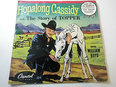 Hopalong Cassidy The Story Of Topper /mail Train Robbery   Eap 55