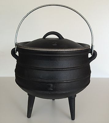 Witches Cauldron/African Potjie Pot (Size No2)