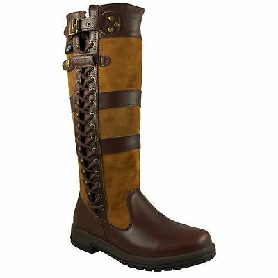 Kanyon Yew Brown Waterproof Country/Riding Boots